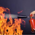 Aplicação de anti-chamas