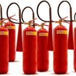 Manutenção e recarga de extintores de incêndio